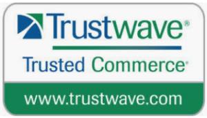 Trustwave logo for safe online commerce